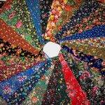 "<center>10"" Inch Colorful Vintage Bouquet Layer Cake </center><center>28  Pre-Cut Quilt Squares Fabric </center>"
