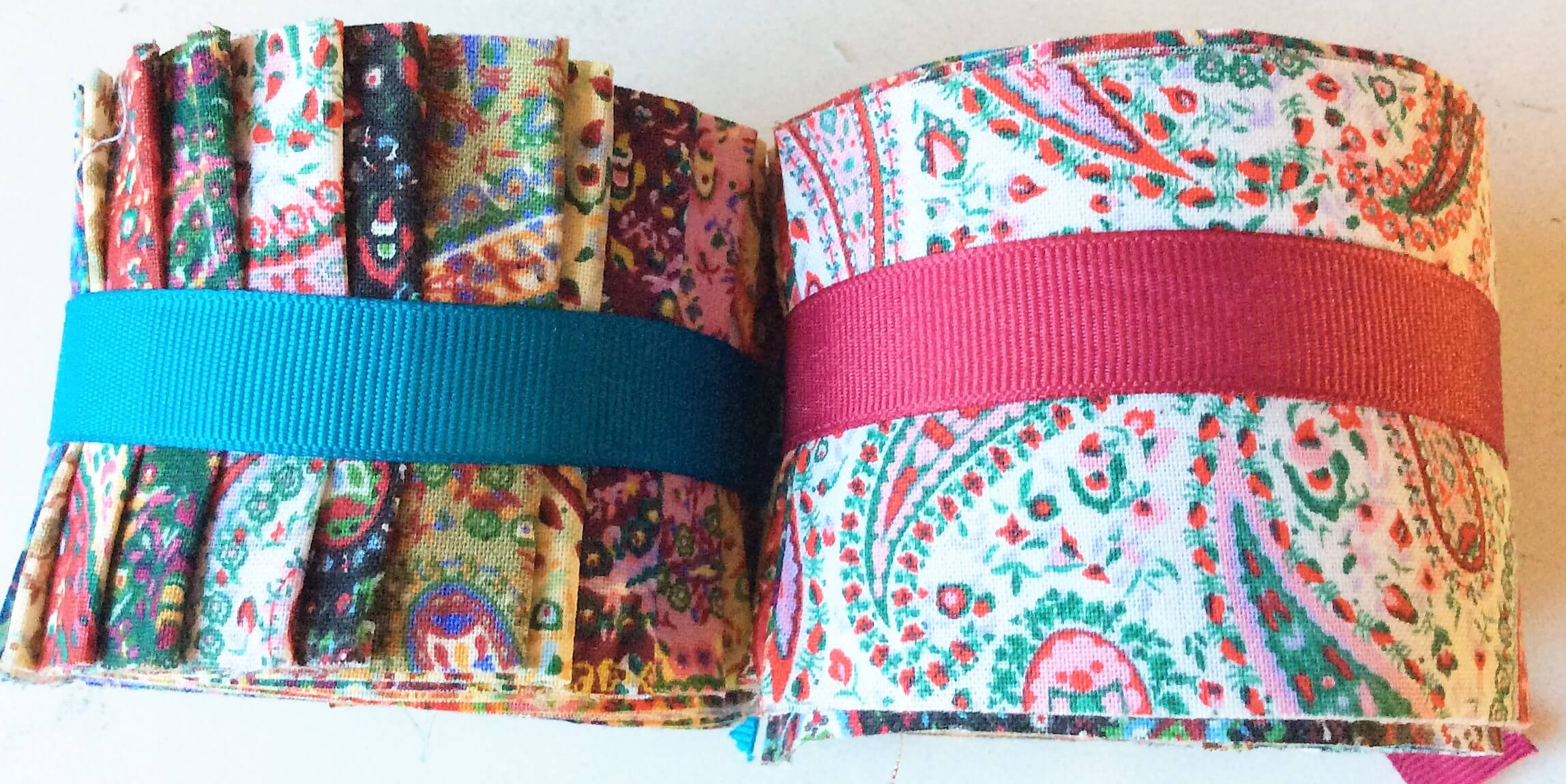 2 5 Inch Paisley Party Jelly Roll Fabric Quilting Strips