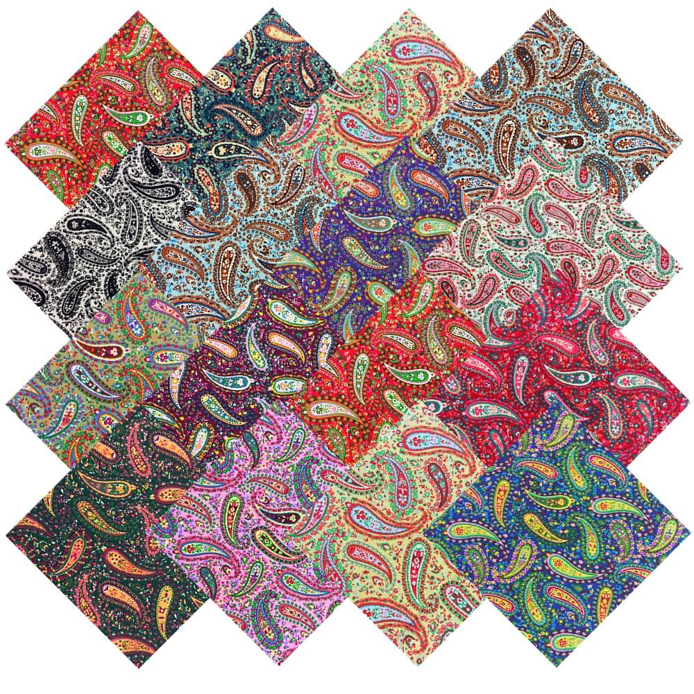 10 Quot Inch Paisley Party Layer Cake 34 Pre Cut Quilt