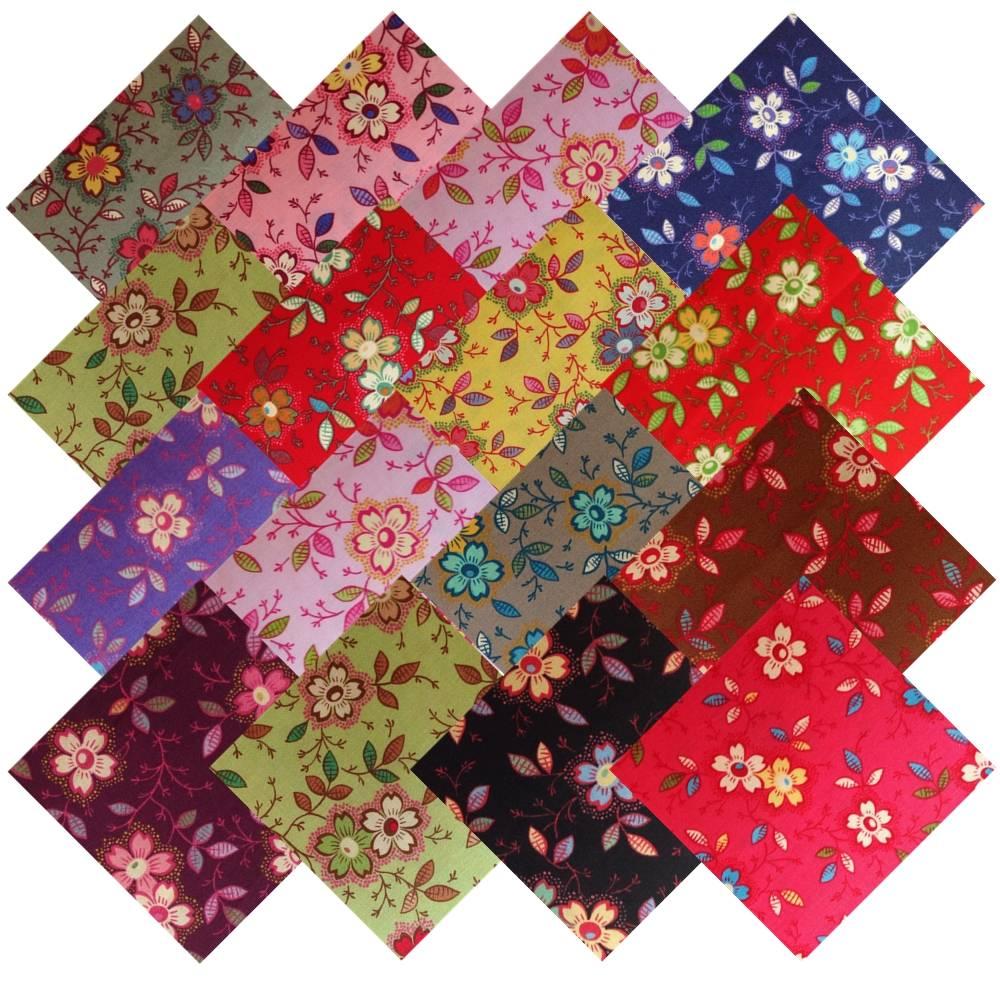 Layer Cake Fabric Squares