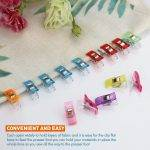 160 Colorful Multipurpose Sewing Clips with Tin Box Package, Assorted Colors, (Box of 160) </br>